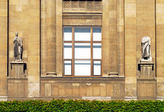 Häuser der Istanbul-Archäologie Museum Stockfotografie