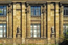 Häuser der Istanbul-Archäologie Museum Stockbilder