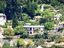 Häuser der Tropen Stockfotos