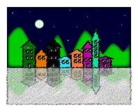 Das Dorf Lizenzfreie Stockbilder