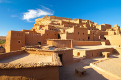 Häuser in der Wüste Stockbild