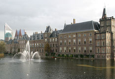 Häuser des Parlaments (Holland) Lizenzfreies Stockbild
