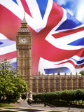 Häuser des Parlaments - London Stockfotografie
