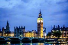 Häuser des Parlaments, London Lizenzfreie Stockbilder