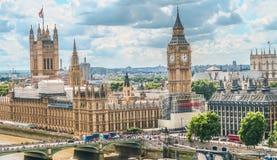 Häuser des Parlaments und des Big Ben Lizenzfreie Stockbilder