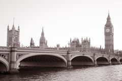 Häuser des Parlaments und des Big Bens Lizenzfreie Stockbilder