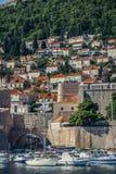 Häuser in Dubrovnik Stockbild