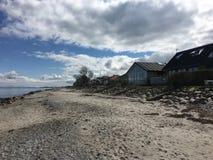 Häuser durch das Meer 3 Lizenzfreie Stockfotos