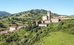 Häuser in einem Dorf Lizenzfreie Stockfotos