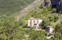 Häuser in einem Dorf Stockfoto