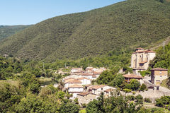 Häuser in einem Dorf Stockbild