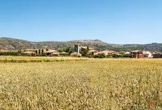 Häuser in einem Dorf Lizenzfreies Stockfoto