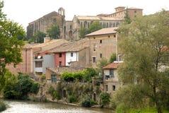 Häuser in Estella Lizenzfreie Stockfotografie