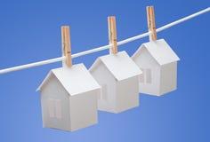 Häuser für Verkauf Lizenzfreie Stockbilder