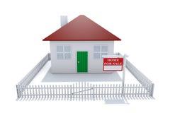 Häuser für Verkauf Lizenzfreie Stockfotografie