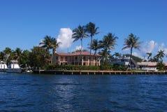 Häuser in Fort Lauderdale Lizenzfreie Stockbilder