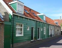 Häuser gebildet vom Holz Lizenzfreie Stockfotografie