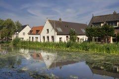 Häuser in Gijbeland Lizenzfreie Stockbilder