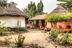 Häuser in großem Millys in Krokobite, Accra, Ghana Stockfotografie