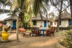 Häuser in großem Millys in Krokobite, Accra, Ghana Stockbilder