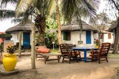 Häuser in großem Millys in Krokobite, Accra, Ghana Stockfoto