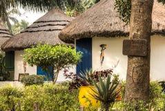 Häuser in großem Millys in Krokobite, Accra, Ghana Lizenzfreie Stockfotografie
