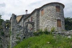 Häuser im Summen, Kroatien Lizenzfreie Stockfotos