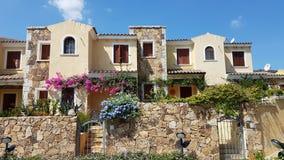 Häuser in Italien Stockbilder
