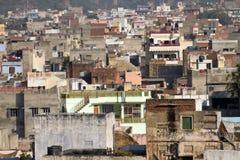Häuser in Jaipur Stockfotos
