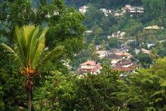 Häuser in Kandy Lizenzfreie Stockfotos