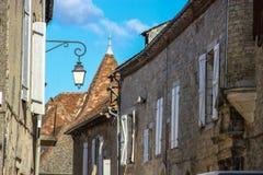Häuser in Martel, Los, Midi-Pyrénées, Frankreich Stockfotografie