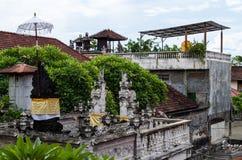 Häuser Padang Bai Stockbilder