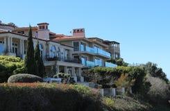 Häuser in Palos Verdes Estates, Kalifornien stockfoto