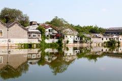 Häuser in Peking Lizenzfreie Stockfotografie