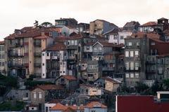 Häuser in Porto Stockfotografie