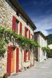 Häuser in Provence, Frankreich Stockfoto