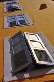 Häuser in Süd-Frankreich stockbilder