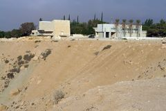 Häuser in Sde Boker Süd-Israel lizenzfreies stockfoto