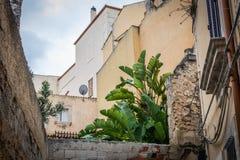 Häuser in Syrakus Lizenzfreie Stockbilder