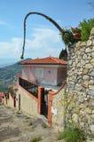 Häuser in Taormina, Sizilien, Italien Lizenzfreies Stockfoto