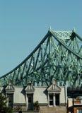 Häuser u. Brücke, Montreal, Kanada Lizenzfreie Stockbilder