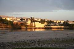 Häuser und Landhäuser in Kapstadt lizenzfreie stockfotos