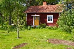 Häuser und Umgebung in Schweden. Lizenzfreie Stockbilder