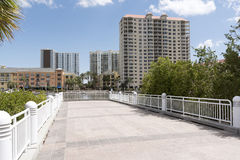Häuser und Unterkunft Tampa Florida USA Stockbilder