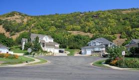 Häuser in Utah Stockfotografie