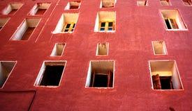 Häuser von Abyaneh Stockbilder