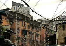 Häuser von Chongqing Stockfotos