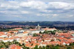 Häuser von Prag Lizenzfreie Stockbilder