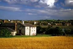 Häuser von Skerries Lizenzfreie Stockfotografie