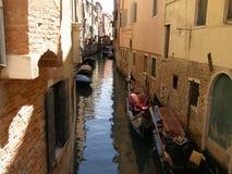 Häuser von Venedig Stockfotografie